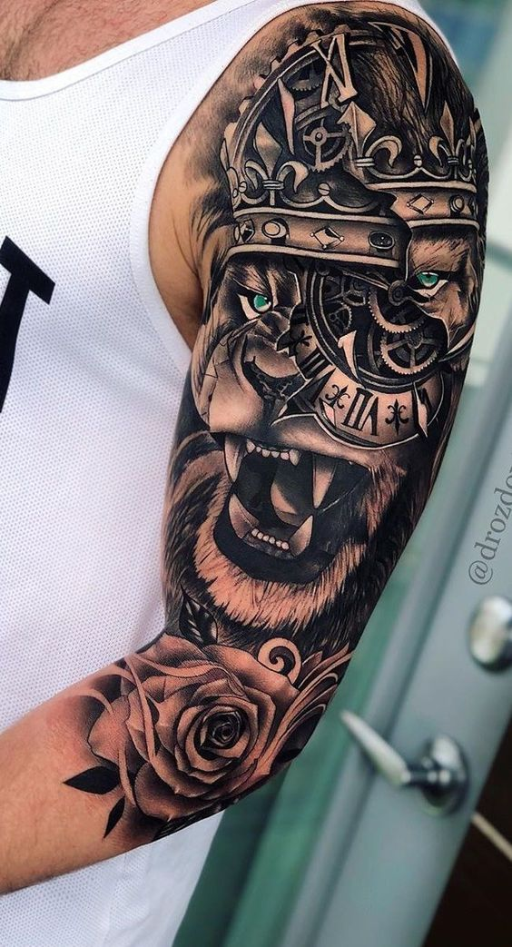 Inspirações Para Tatuagens Masculinas 2020 New Old Man
